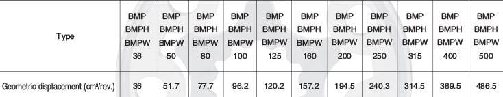 BMP motor