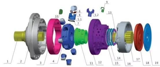 MS11 motor parts list