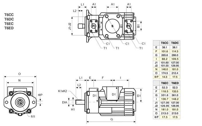 T6DC size